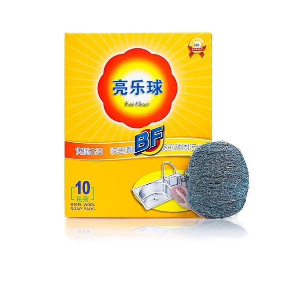 含皂去污钢丝棉超细钢丝球